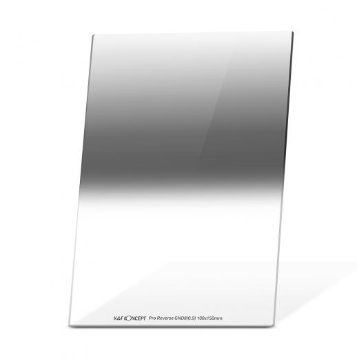 Densidade Neutra Graduada Reversa GND8 3 f-stop Filtro 100 * 150mm