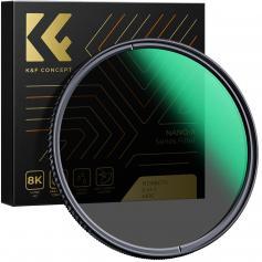 82mm Neutral Density Filter ND8 Filter + CPL Circular Polarizing Filter 2 W 1, Multi-Coated, Super Slim, Wodoodporny, Odporny NA Zarysowania