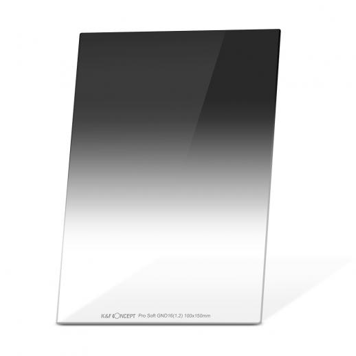 K&F SJ516 GND16 100*150*2.0mm Soft 4 f-stop Graduated Neutral Density Filter