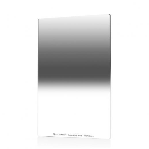 K & F SJ526 GND16 100 * 150 * 2.0mm Inverse 4 f-stop filtre de densité neutre gradué