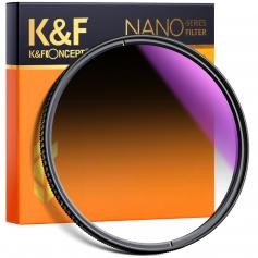 58MM MIęKki Filtr ND16 Ultra-Clear Optical Glass Multi-Coated