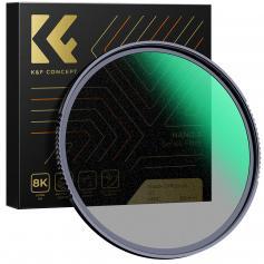 58MM Nano-X Optiskt Glas Svart Mjukt Filter 1/2 Ultraklart Belagt Med Vattentät Reptålig Och Antireflexgrön Film