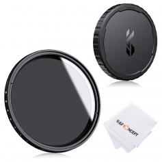 72mm Variable ND2-ND400 Filter+ Cleaning Cloth+ Filter Cap