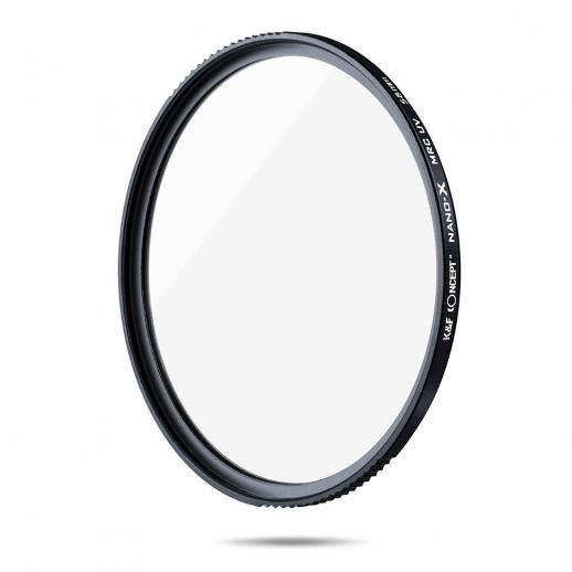 K&F XU05 Filtro UV de 58mm para lentes de câmera, UV multi revestido de 18 camadas