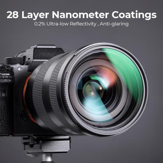 Filtro UV de 18mm Nano-X de 82mm multi revestido
