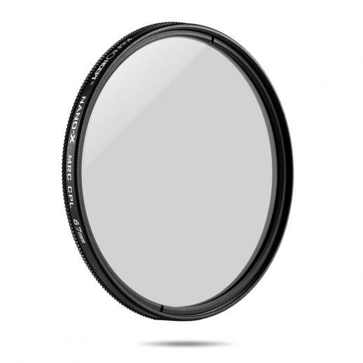 K&F XC15 67mm Filtro circular dos polarizadores, multi CPL revestido magro super de 18 camadas