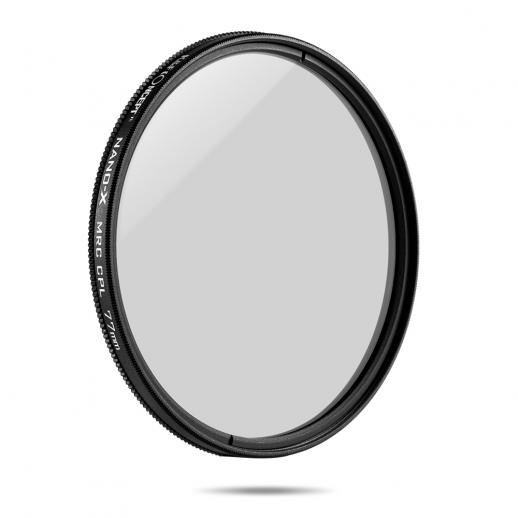 K&F XC15 77mm Circular Polarizers Filtres,18-Couches Super Slim Multi-Couches CPL