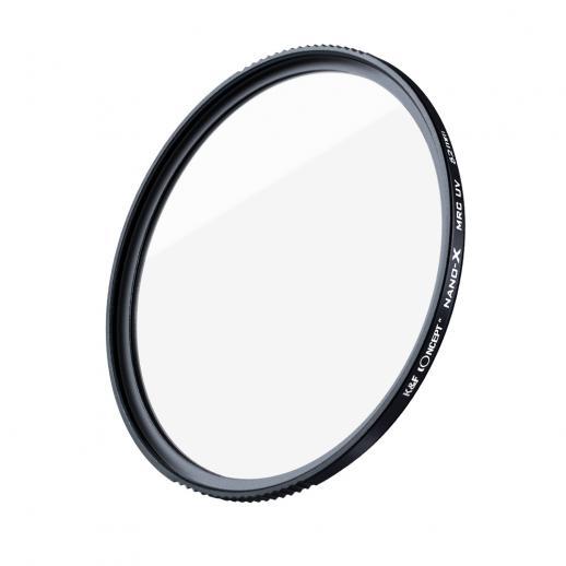 K&F XU05 40.5mm Filtro UV Revestimentos de nanotecnologia com múltiplas camadas e 18 camadas