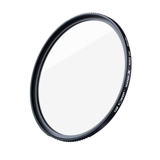 55 mm UV-filter voor cameralenzen, 18-laags meerlaagse UV-beschermingsfilter Nanotech-coatings