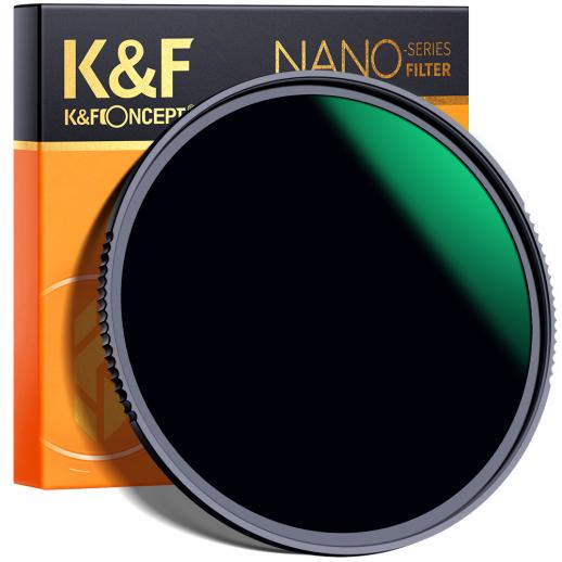 K&F XN25 52 mm 10-stops multi-resistente nanocoating ND1000-filter