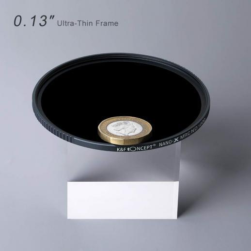 Filtro ND de 40,5 MM ND1000 10 Paragens