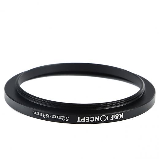 52mm bis 58mm Step Up Ring