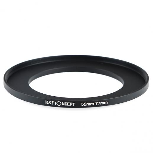55mm bis 77mm Step Up Ring