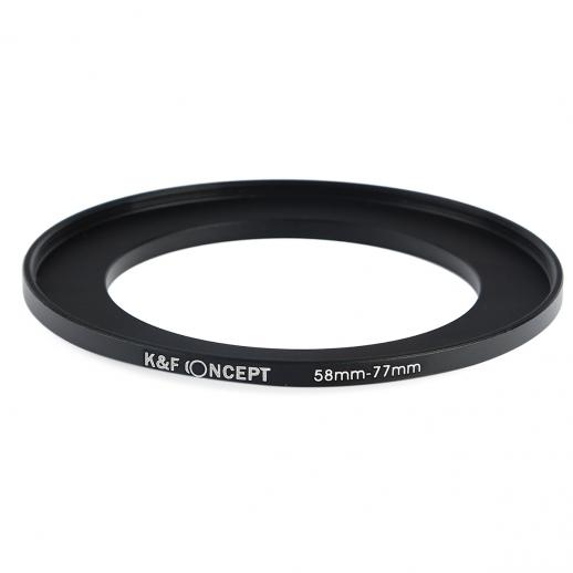 58mm to 77mm Step Up Ring