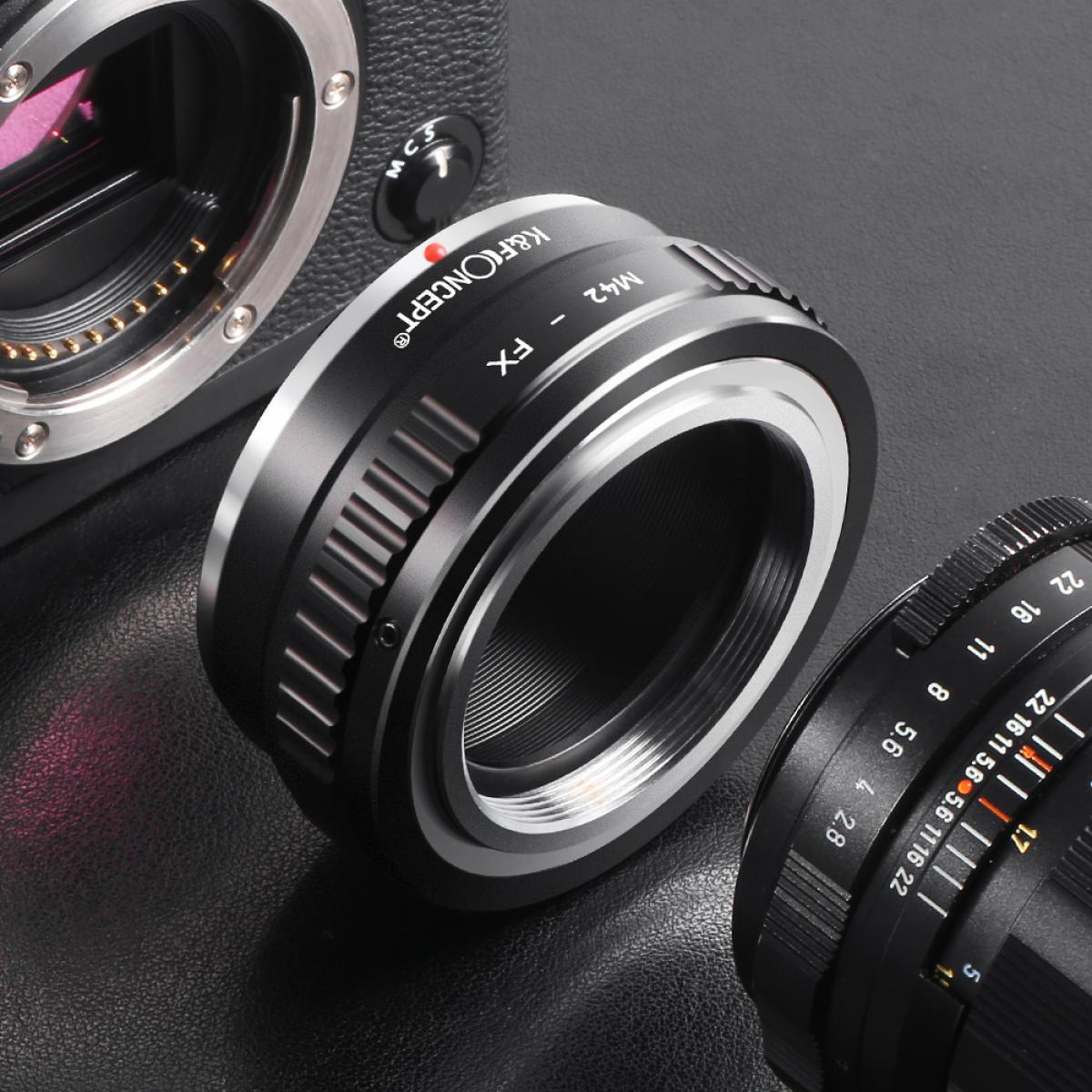 Lens Mount Adapter for M42 Mount Lens to Fujifilm Fuji X-Series X FX Mount Mirrorless Camera Body,Fits for Fuji XT2 XT20 XE3 XT1 X-T2
