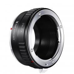 PK Till FX Linsmonteringsadapter, Kompatibel Med Pentax K PK Mount Lens Och Kompatibel Med Fuji X-Seriens MonteringslöSA Kameror