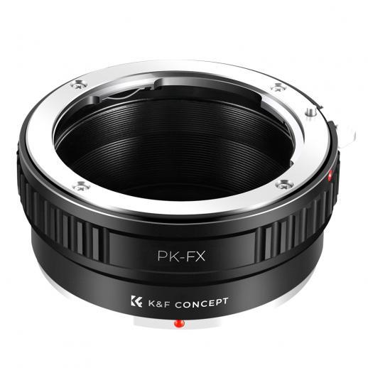 Adattatore per Obiettivi Pentax K a Fotocamere Fuji X