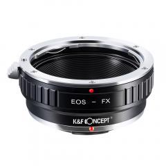K&F M12111 Bague Adaptation Objectif Canon EF vers Fuji X Mount Appareil Photo