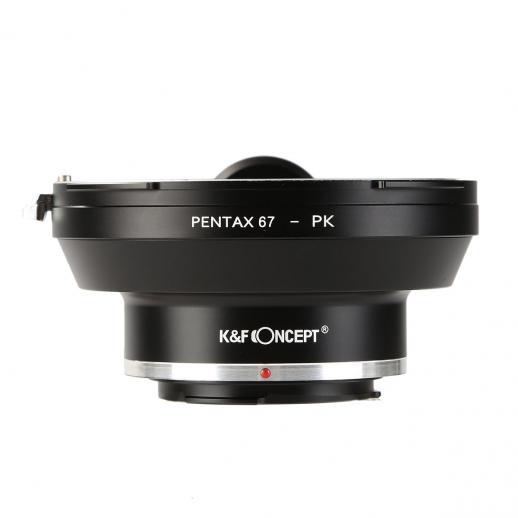 Adapter für Pentax 67 Objektiv auf Pentax K Mount Kamera