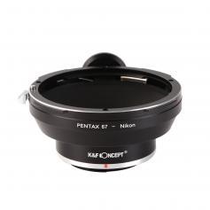 Adattatore per Obiettivi Pentax 67 a Fotocamere Nikon F