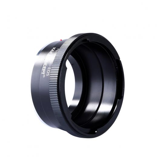 Adapter für Pentacon 6 Kiev 60 Objektiv auf Canon EF Mount Kamera