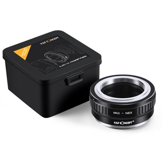 Adapter für M42 Objektiv auf Sony E Mount Kamera