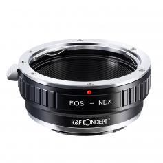 Adattatore per Obiettivi Canon EF a Fotocamere Sony E Mount