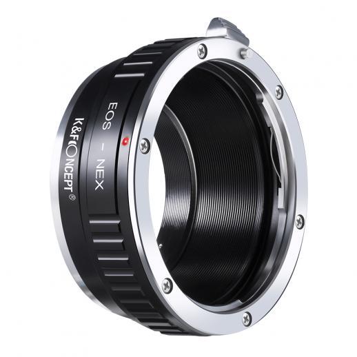 Adapter für Canon EF Objektiv auf Sony E Mount Kamera