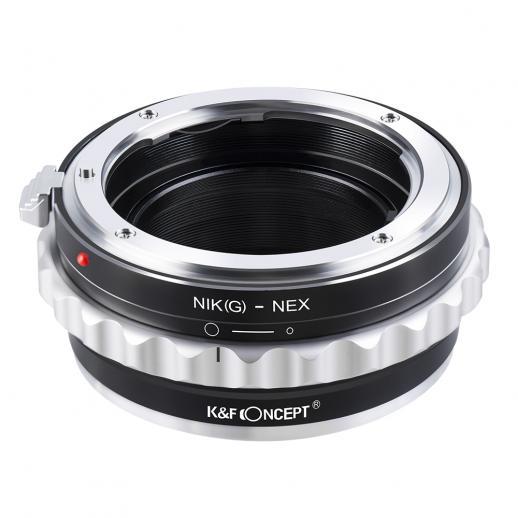 Adaptador de Lentes Nikon G/F/AI/AIS/D para Sony E Mount Cámara