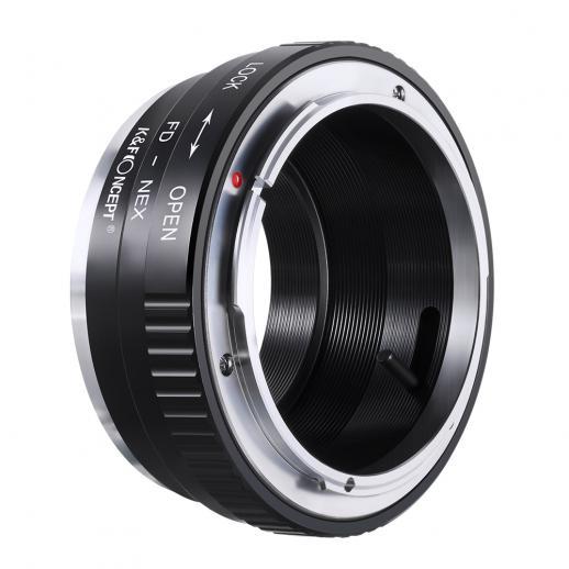 Adapter für Canon FD Objektiv auf Sony E Mount Kamera