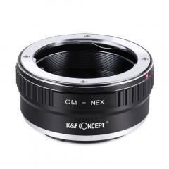 K&F M16101 Bague Adaptation Objectif Olympus OM vers Sony E Mount Appareil Photo