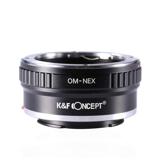 K&F M16101 Bague Adaptation Objectif Olympus OM vers Sony E Mount Appareil Photo