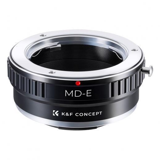 Adapter für Minolta MD Objektiv auf Sony E Mount Kamera