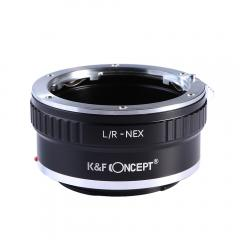 K&F M21101 Bague Adaptation Objectif  Leica R vers Sony E Mount Appareil Photo