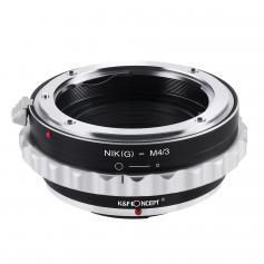 Adapter Obiektyw Nikon G/F/AI/AIS/D do Korpusów M43 MFT
