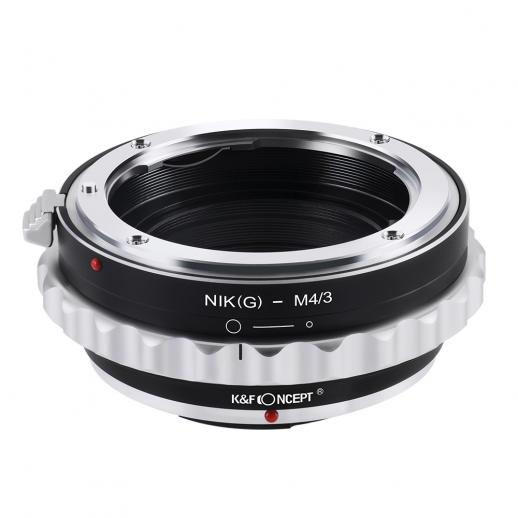Nikon G/F/AI/AIS/D Lenzen voor Micro Four Thirds M43 Camera Adapter