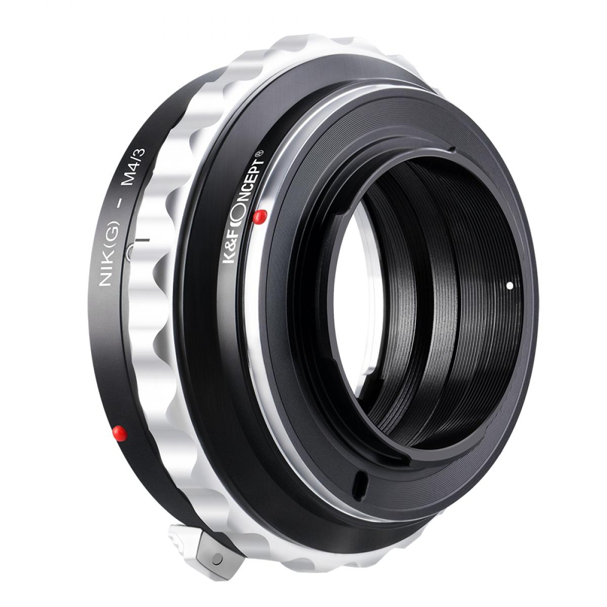 Adattatore per Obiettivi Nikon G/F/AI/AIS/D a Fotocamere M43