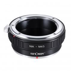 Adapter für Nikon F Objektiv auf M43 MFT Mount Kamera