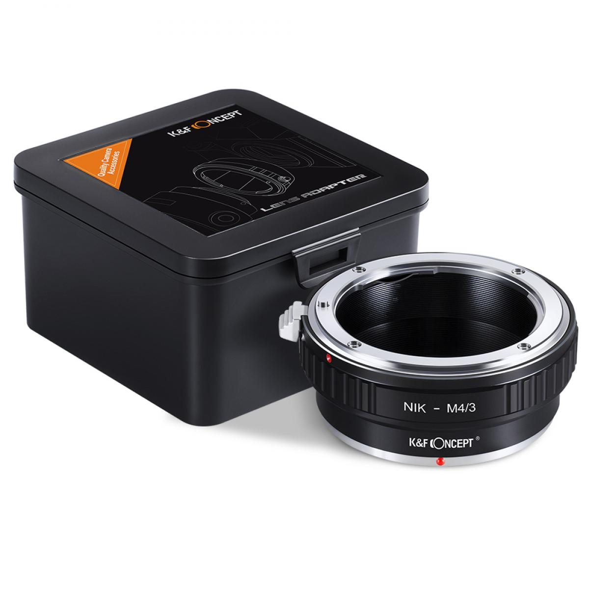Nikon F Objectif pour Micro 4 3 Caméra Bague Adaptateur