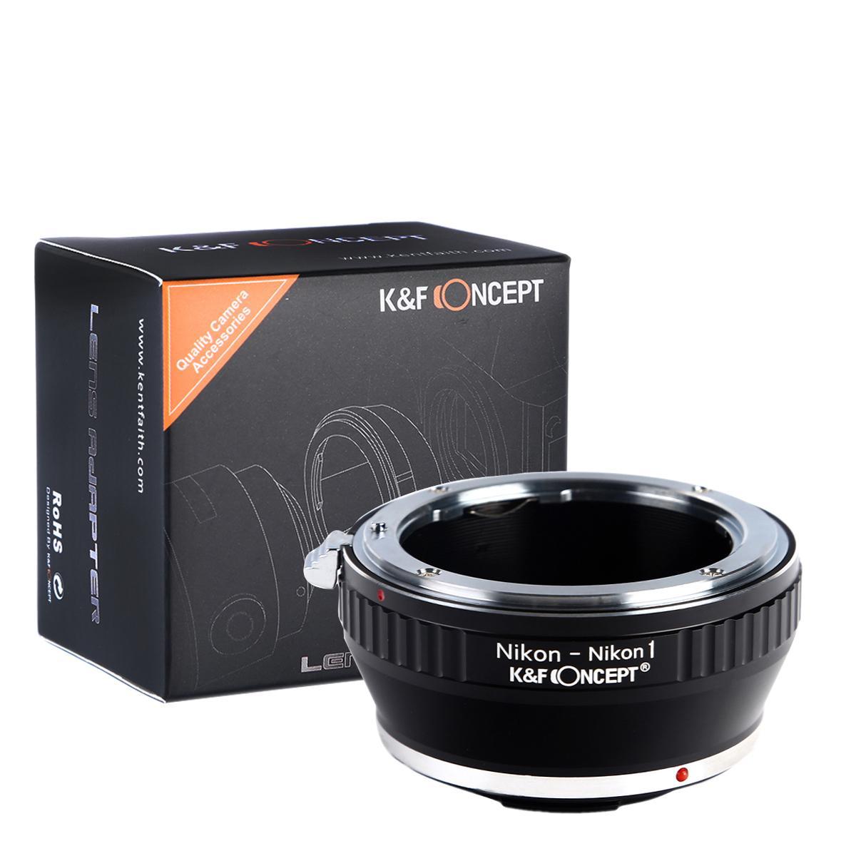 K&F M11201 Nikon F Lentes para Nikon 1 Adaptador de Montagem de Lente