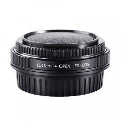 K&F M13131 Bague Adaptation Objectif Canon FD vers Canon EOS EF Mount Appareil Photo avec Verres Optiques