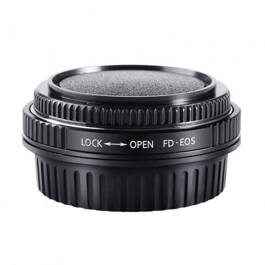 Adaptador Lentes Canon FD para corpo Canon EF