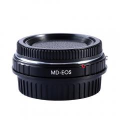 K&F M12131 Bague Adaptation Objectif Minolta MD MC  vers Canon EF Mount Appareil Photo avec Optic Glass