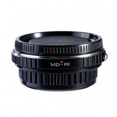 Adapter für Minolta MD Objektiv auf Pentax K Mount Kamera mit Optisches Glas