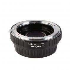 Adapter Obiektyw Nikon F do Korpusów Pentax K