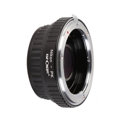 Adattatore per Obiettivi Nikon F a Fotocamere Pentax K