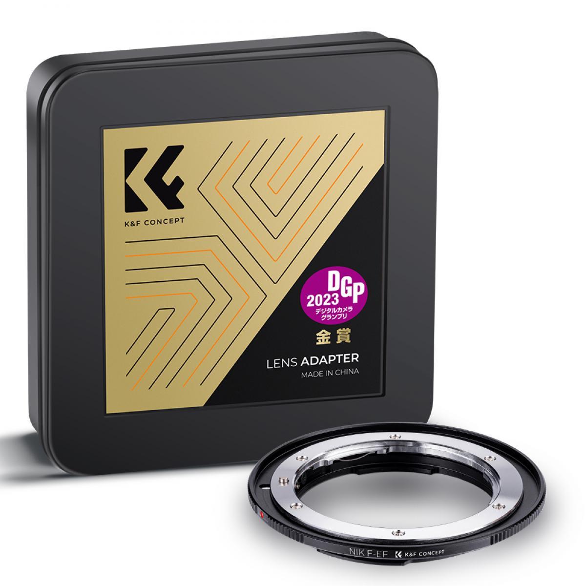 Adaptador Lentes Nikon F para corpo Canon EF
