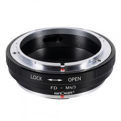 K&F M13121 Bague Adaptation Objectif Canon FD vers M43 MFT Mount Appareil Photo