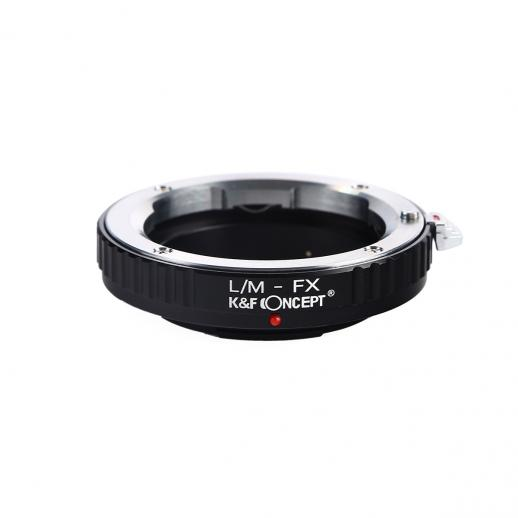 Adapter für Leica M Objektiv auf Fuji X Mount Kamera