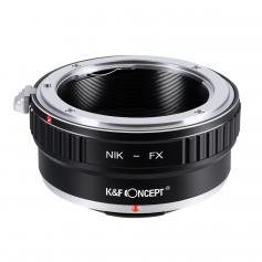 K&F Adapter für Nikon F Objektiv auf Fuji X Mount Kamera